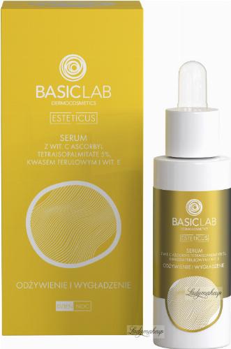 BASICLAB - ESTETICUS - Anti-wrinkle treatment - Smoothing and nourishing face serum - Day / Night - 30 ml