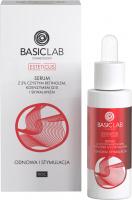 BASICLAB - ESTETICUS - Serum naprawcze do twarzy - Odnowa i stymulacja - Noc - 30 ml