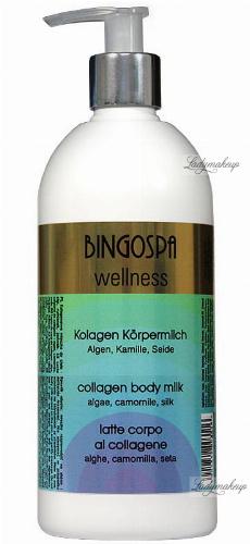 BINGOSPA - Collagen body milk with algae - 500ml