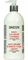 BINGOSPA - Krem na cellulit i rozstępy z L-karnityną, kofeiną i imbirem - 500ml