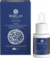 BASICLAB - ESTETICUS - Serum z 10% trehalozą, 5% peptydami snap-8 i małocząsteczkowym kwasem hialuronowym - Dzień/Noc - 15 ml