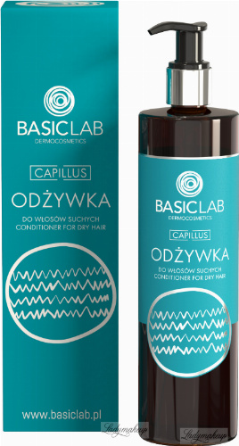 BASICLAB - CAPILLUS - CONDITIONER FOR DRY HAIR - Conditioner for dry hair - 300 ml