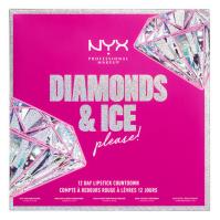 NYX Professional Makeup - DIAMONDS & ICE PLEASE! - 12 DAY LIPSTICK COUNTDOWN - Advent calendar for lip makeup