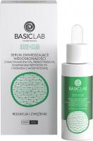 BASICLAB - ESTETICUS - Serum zmniejszające niedoskonałości z niacynamidem 10%, prebiotykiem 5%, kompleksem peptydów 2% i filtratem z wody ryżowej- Redukcja i zwężenie - Dzień/Noc - 30 ml