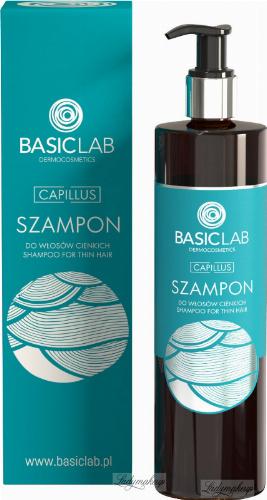 BASICLAB - CAPILLUS - SHAMPOO FOR THIN HAIR - Shampoo for fine hair - 300 ml