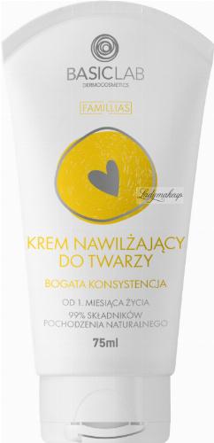 BASICLAB - FAMILLIAS - Moisturizing face cream - Rich texture - 75 ml