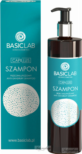BASICLAB - CAPILLUS - Anti-dandruff shampoo - 300 ml