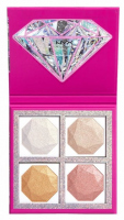 NYX Professional Makeup - DIAMONDS & ICE PLEASE! HIGHLIGHTING PALETTE - Paleta rozświetlaczy - 02 BEST LIFE