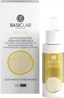 BASICLAB - ESTETICUS - ANTIOXIDANT REGENERATING SERUM NUTRITION & EQUALIZATION - Antioxidant regenerating serum - Nutrition and leveling - Day / Night - 30 ml