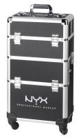 NYX Professional Makeup - 4 Tier Mkup Artist Train Case - Kufer kosmetyczny na rolkach