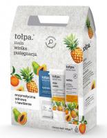 Tołpa - Sebio - Face care set - Peeling 40 ml + Face wash gel 150 ml + Mask-compress 2 x 6 ml