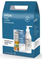 Tołpa - Dermo Face Hydrativ - Face care set - Peeling 3 Enzymes 8 ml + Micellar gel 195 ml + Serum-booster 75 ml