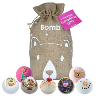 Bomb Cosmetics - Gift Set - Zestaw upominkowy - Worek Św. Mikołaja - I Come Bearing Gifts