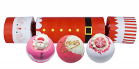 Bomb Cosmetics - Cracker Gift Pack - Candy-shaped gift set - FATHER CHRISTMAS