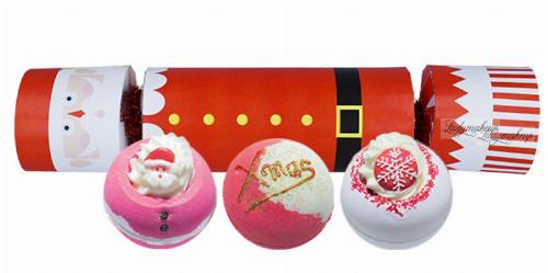 Bomb Cosmetics - Cracker Gift Pack - Zestaw upominkowy w kształcie cukierka - FATHER CHRISTMAS