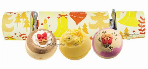 Bomb Cosmetics - Cracker Gift Pack - Zestaw upominkowy w kształcie cukierka - BABY IT'S GOLD OUTSIDE