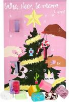 Bomb Cosmetics - Bathe, Sleep, Be Merry & Repeat Advent Calendar Gift Pack - Kalendarz adwentowy z kosmetykami do kąpieli