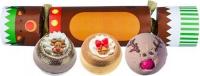Bomb Cosmetics - Cracker Gift Pack - Zestaw upominkowy w kształcie cukierka - RED NOSED REINDEER