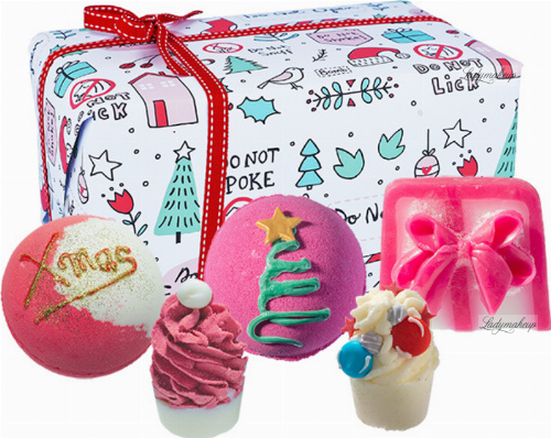 Bomb Cosmetics - Gift Pack - Gift set of body care cosmetics - No Peeking