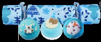 Bomb Cosmetics - Cracker Gift Pack - Zestaw upominkowy w kształcie cukierka - ALL I WANT FOR CHRISTMAS IS BLUE