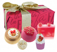 Bomb Cosmetics - Gift Pack - Gift set of body care cosmetics - Fa La La Festive