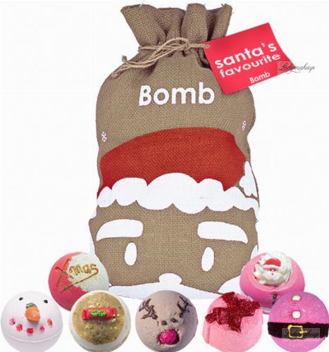 Bomb Cosmetics - Gift Set - Zestaw upominkowy - Worek Św. Mikołaja - Santa's Favourite