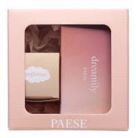 PAESE - Zestaw świąteczny Nr. 2 - Paleta 8 cieni Dreamily + Puder pod oczy Puff Cloud 5,3 g