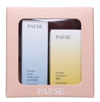 PAESE - Christmas set No. 1 - Serum with vitamin C, 15 ml + Serum with hyaluronic acid 30 ml