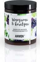 ANWEN - Grapes & Keratin - Mask for medium porosity hair - 180 ml
