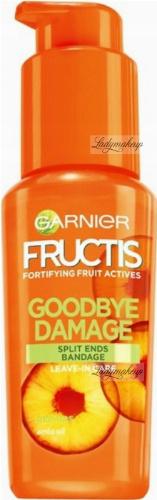 GARNIER - FRUCTIS - GOODBYE DAMAGE LEAVE-IN SERUM - Odbudowujące serum na rozdwojone końcówki - 50 ml - BEZ SPŁUKIWANIA