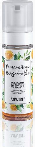ANWEN - Pomarańcza & Bergamotka - Delikatny szampon w piance do normalnej i przetłuszczającej się skóry głowy - 170 ml