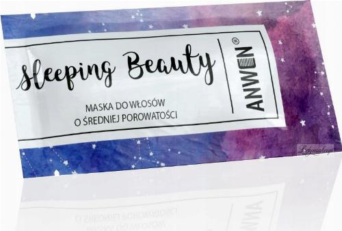 ANWEN - Sleeping Beauty - Medium porosity hair mask - Night - 10 ml