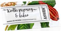 ANWEN - Kiełki pszenicy & Kakao - Maska do włosów wysokoporowatych - 10 ml