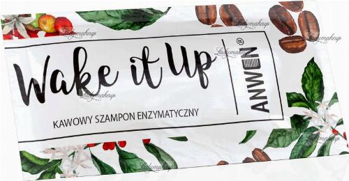 ANWEN - Wake It Up - Kawowy szampon enzymatyczny do włosów - 10 ml