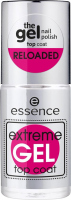 Essence - Extreme GEL Top Coat - Gel nail top coat - 8 ml