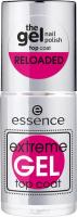 Essence - Extreme GEL Top Coat - Gel nail top coat - 8 ml