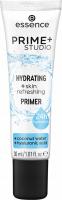 Essence - PRIME + STUDIO - Hydrating + Skin Refreshing Primer - Moisturizing make-up base minimizing pores - 30 ml