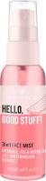 Essence - HELLO GOOD STUFF! 3in1 FACE MIST - Nawilżająco-matująca mgiełka utrwalająca makijaż - 50 ml