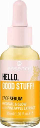 Essence - HELLO GOOD STUFF! FACE SERUM - Nawilżające serum do twarzy - 30 ml
