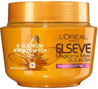 L'Oréal - ELSEVE - Magiczna moc olejków - Odżywcza maska do włosów z olejkami kwiatowymi - 300 ml