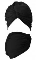 ANWEN - Wrap It Up - Bawełniany turban do włosów - Czarny