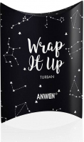 ANWEN - Wrap It Up - Cotton hair turban - Black
