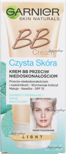 GARNIER - BB Cream - Czysta Skóra - Krem BB przeciw niedoskonałościom - SPF 15 - LIGHT