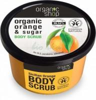 ORGANIC SHOP - BODY SCRUB - Body peeling - Sicilian orange - 250 ml