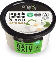 ORGANIC SHOP - BATH SALT - Sól do kąpieli - Jaśminowy Kaszmir - 250 ml