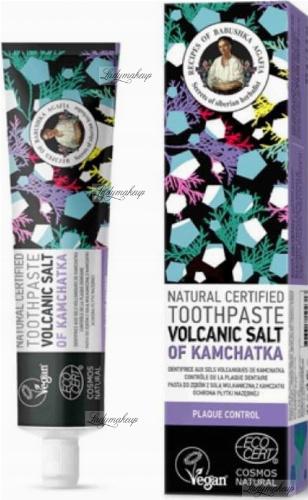 Agafia - Recipes of Babuszka Agafia - Natural Toothpaste - Volcanic Salt Of Kamchatka - Natural toothpaste with volcanic salt from Kamchatka - 85 g