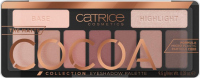 Catrice - THE MATTE COCOA COLLECTION EYESHADOW PALETTE - Palette of 9 eyeshadows - 010 Chocolate Lover