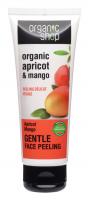 ORGANIC SHOP - GENTLE FACE PEELING - Gentle face scrub - Apricot and mango - 75 ml