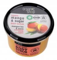 ORGANIC SHOP - BODY SCRUB - Rozświetlający peeling do ciała - Kenijskie Mango - 250 ml