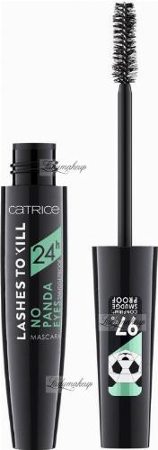 Catrice - 24H Lashes To Kill No Panda Eyes - Podkręcająco-pogrubiający tusz do rzęs - 10 ml